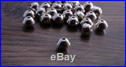 100 Sterling Silver Bench Made Beads 6mm (100 beads) DB2H -100 beads