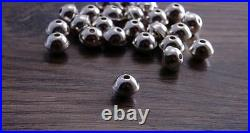 100 beads Sterling Silver Bench Made Beads 6mm (pack of 100 beads) DB2H