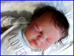 20 Inch Handmade Full Silicone Chunky Reborn Baby Doll Made By USA Artist