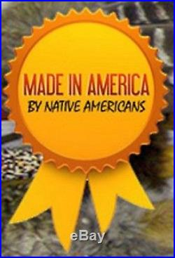 29 Authentic Handcrafted Native American Cherokee Made REAL Coyote Cradleboard