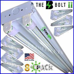 8 PACK 4FT LED SHOP LIGHT 5000K Daylight Utility Ceiling lighting MADE IN USA