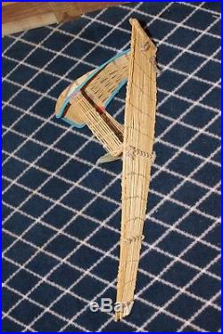ANTIQUE Native American Paiute Cradleboard WILLOW Made In Yosemite Valley