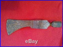 Antique pipe tomahawk head believe to be French made from mid 1800s