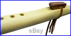 Authentic Hand Made Native American Flute, Back Packer Key of A by Marvin Yazzie