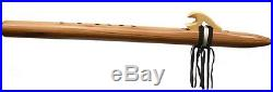 Authentic Hand Made Native American Flute, Bear Claw, Key of F# by Marvin Yazzie