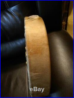 Awesome Native American Rawhide Buffalo Drum Great Sound Shaman! Well Made