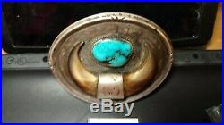 Bear Claws and turquoise belt buckle. Special made, see description ESTATE SALE