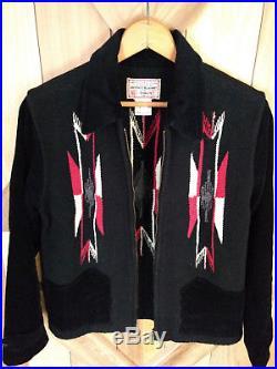 Beautifully Made 30s 40s 50s Style Woven Native American Chimayo Jacket Talon