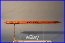 Cedar D Native American Flute made by David Nighteagle
