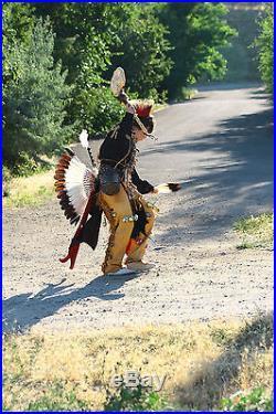 Custom buckskin leggings Native Made Full length regalia pow wow reenactor