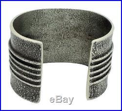 Edison Cummings, Bracelet, Tufa Cast, Turquoise, Coral, Lapis, Navajo Made, 6.5
