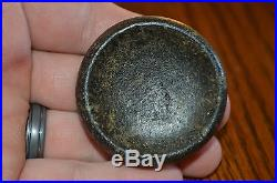 Exceptionally well made Mississippian Cahokia Style Discoidal Mississippi Co Ark
