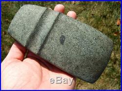 Fine Made Hardstone Iowa Keokuk Axe COA Arrowheads Artifacts
