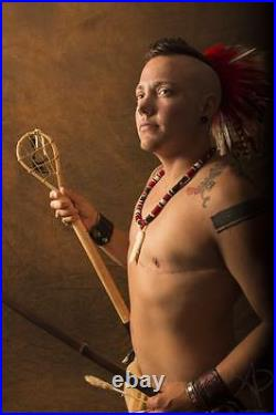 Fox quiver native american made quiver traditional archery stickbow pow wow