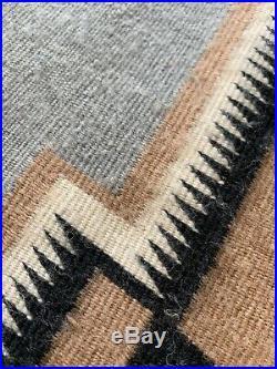 Hand Made Loom Wool Native American Indian Rug Navajo/apache