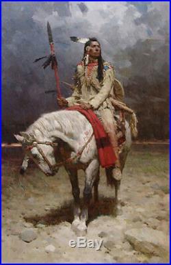 Handmade Native American Cherokee Made Raccoon Spirit Dance Stick 14 Long