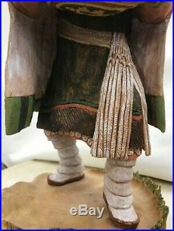 Hopi Crow Mother by Wally Navasie (Hopi Kachina)(Native American Hand made)