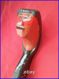Iroquois styled war club Native American made