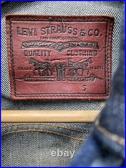 Levis x Pendleton Cone Denim TRUCKER JACKET Navajo (small) Made in USA