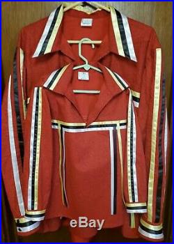 Matching father & son ribbon shirts Made to order powwow regalia FREE SHIPPING