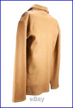 Mens Buckskin Shirt Mountain Man Native American Hand Made in USA Size Large