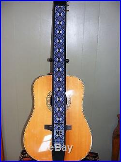 Native American Beaded Guitar Strap (Chippewa) Custom Made