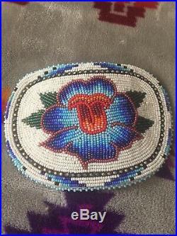 Native American Beadwork Hair Clip Shoshone Bannock made pow wow