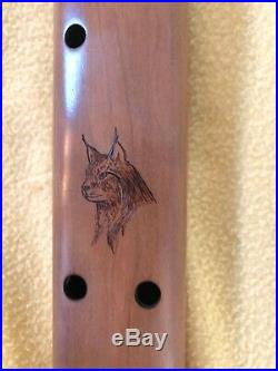 Native American Drone Flute made by Miguel Medina