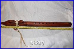 Native American Flute hand made by David Nighteagle and signed # 2515