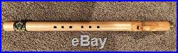 Native American Flute in key of low A, made by Gene B. Cope