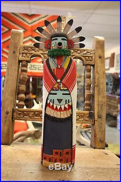 Native American HOPI Kachina Doll, made by Earl Arthur