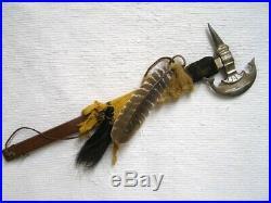 Native American HandMade Apache Made Metal Hatchet Conquistador weapon 26 Long