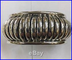 Native American Hand Made Navajo Sterling Silver Cuff Bracelet