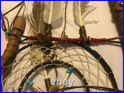 Native American Hand Made Tigua Tribe Chief's Medicine Staff Coup Stick 48 COA