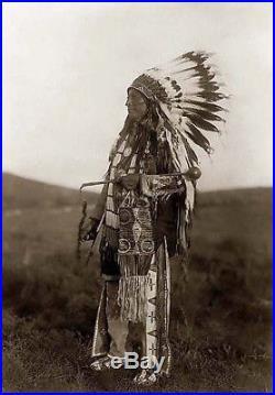 Native American INDIAN HANDMade Navajo Dream Catcher Spirit Stick 7.5- Rust