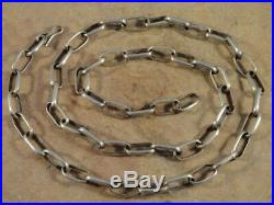 Native American Navajo 24 1/8 Inch Sterling Silver Hand Made Chain