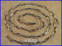 Native American Navajo 30 1/2 Inch Sterling Silver Hand Made Chain