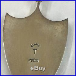 Native American Navajo Hand Made Sterling Silver Multi Opal Pendant