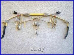 Native American Navajo Made Bow- Arrows Medicine Wheel Cert Authenticity