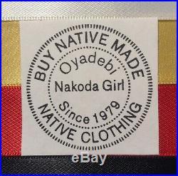 Native American RegaliaNAKODA MADEGenuine KETUKLA Mato Full Size Dance Shawl