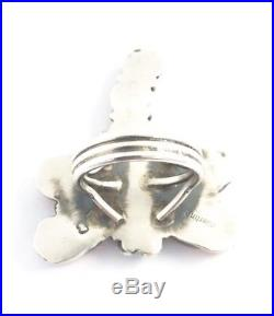 Native American Sterling Silver Navajo Hand Made Dragonfly Spiny Oyster Size 8