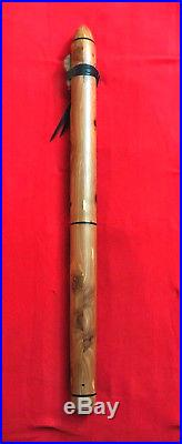 Native American Style Extra Large 36 Contra Bass Flute F# Pat Haran Made