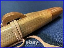 Native American Style flute Signed Magic Wind In Key Of F 22 Made Chuck Pavey