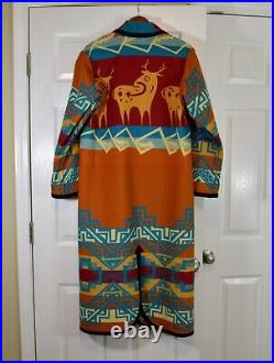 Native American overcoat designed by Amado M. Pena Jr. Only 4 ever made! RARE
