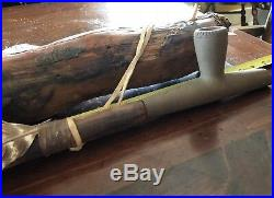 Native american peace pipe Hand Made