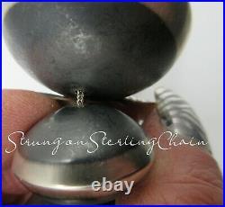 Navajo-ROSE MARTIN-Authentic-Hand Made-Navajo Pearl/Bench Bead Choker Necklace