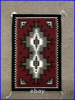 Navajo Rug Ganado 18x31 (Native American Weaving) Hand Made