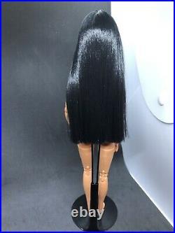 OOAK Northwest Coast Native American Barbie Doll Repaint Indian Made To Move