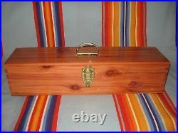 Osage made Native American Cedar Box Church, Gourd, NAC, Feathers, PowWow