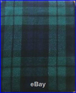 Pendleton Wool Blanket NWT Washable Sz Twin Blackwatch Tartan Plaid Made In USA